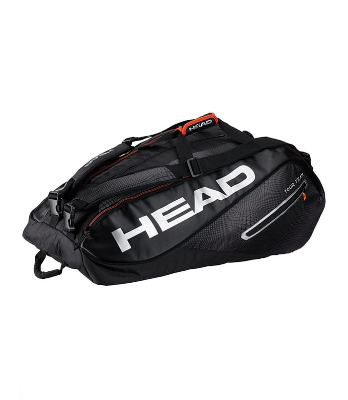 ساک تنیس هد | Tour Team Bag Black 12R Monstercombi Black/Silver 2019