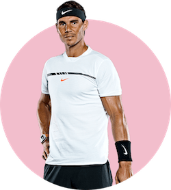 محصولات و لوازم تنیس رافائل نادال