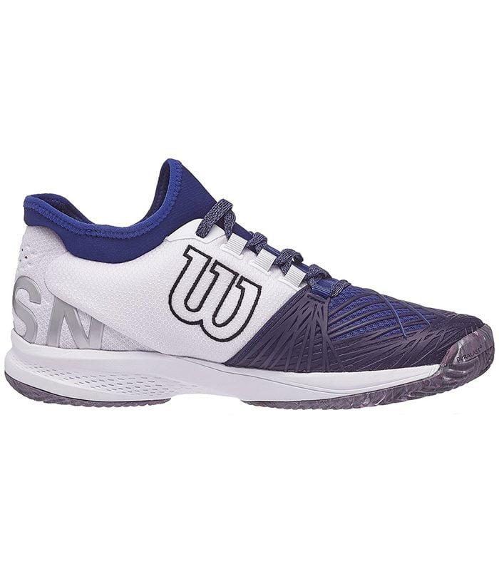 کفش تنیس مردانه ویلسون | Kaos 2.0 SFT Clay Blue/White