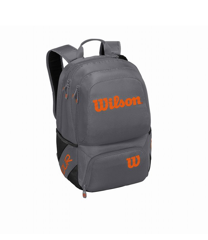 کوله تنیس ویلسون | Tour V Backpack Medium Grey/Orange