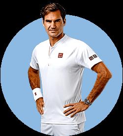 محصولات و لوازم تنیس راجر فدرر