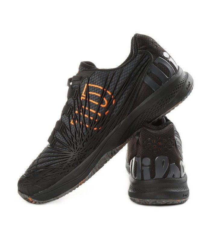 کفش تنیس مردانه ویلسون | Kaos 2.0 Clay Black/Orange