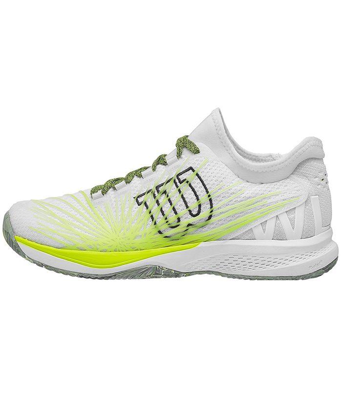 کفش تنیس مردانه ویلسون | Kaos 2.0 SFT Clay White/Yellow