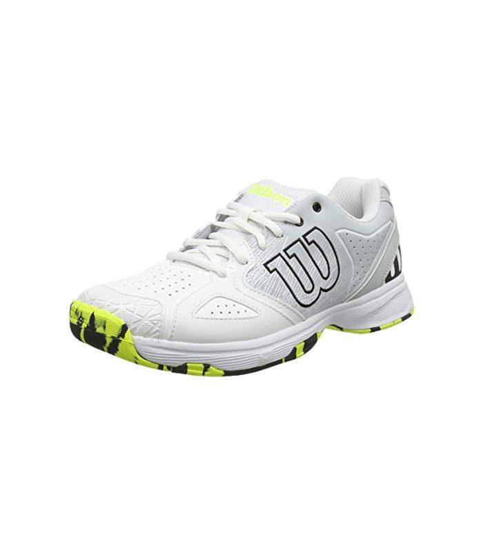 کفش تنیس مردانه ویلسون | Kaos Devo White/Pearl Blue/Yellow