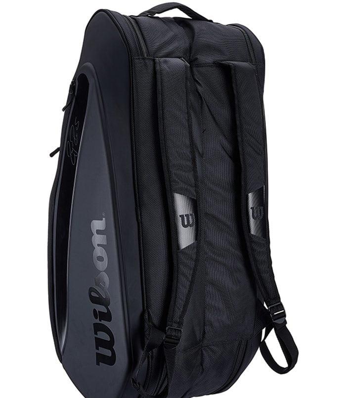 ساک تنیس ویلسون | Federer DNA 12 Pack Black Bag