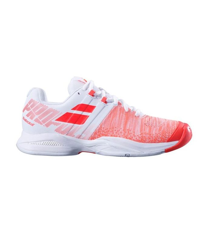 کفش تنیس زنانه بابولات   Propulse Blast White/Fluo Strike