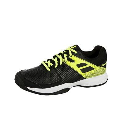 کفش تنیس مردانه بابولات | Pulsion All Court Black/Fluo Aero