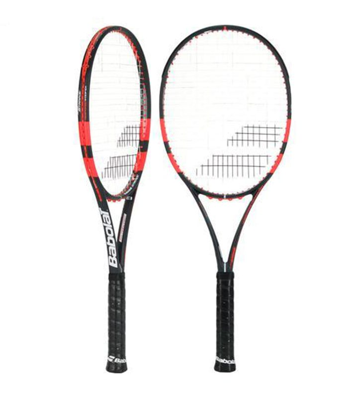 راکت تنیس بابولات | Pure Strike 98 18x20 Black/Orange