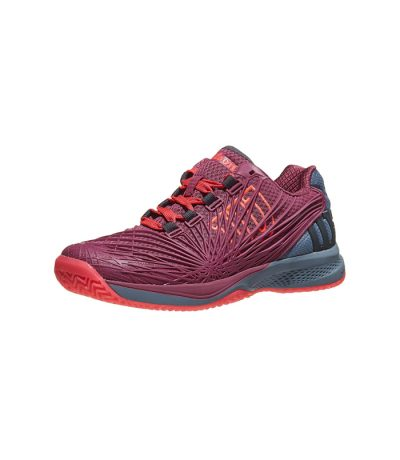 کفش تنیس زنانه ویلسون | Kaos 2.0 Plum/Grey