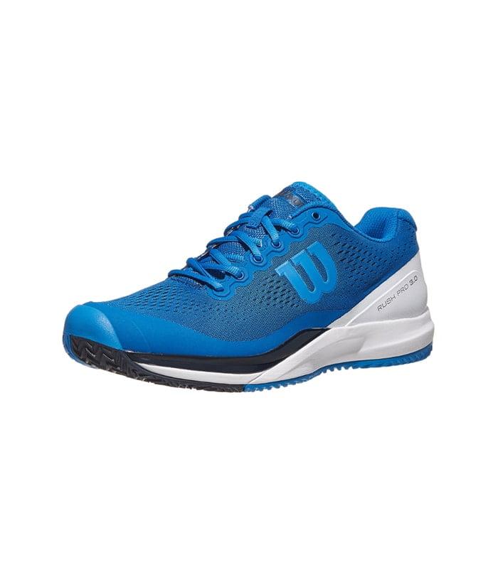 کفش تنیس مردانه ویلسون | Rush Pro 3.0 Blue/White