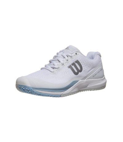 کفش تنیس زنانه ویلسون | Rush Pro 3.0 White/Blue