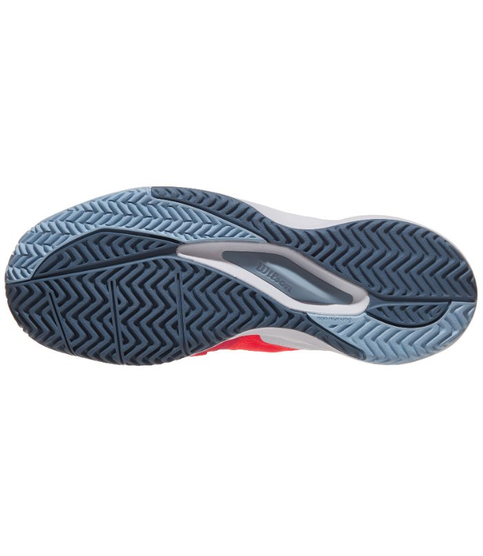 کفش تنیس زنانه ویلسون | Rush Pro 3.0 Coral/Blue