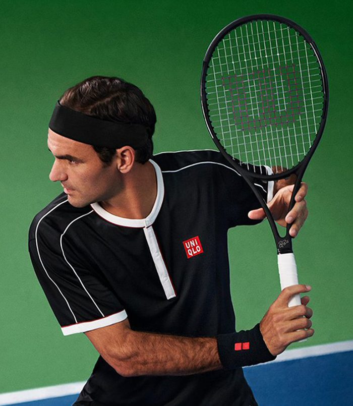 تی‌شرت تنیس مردانه یونیکلو | MEN ROGER FEDERER NEW YORK 2019 DRY-EX POLO