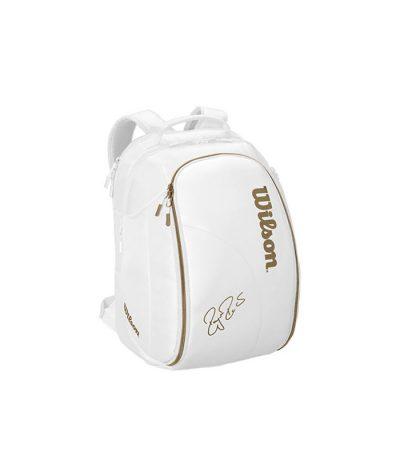 کوله تنیس ویلسون | Federer DNA Backack Bag Limited (White/Gold)