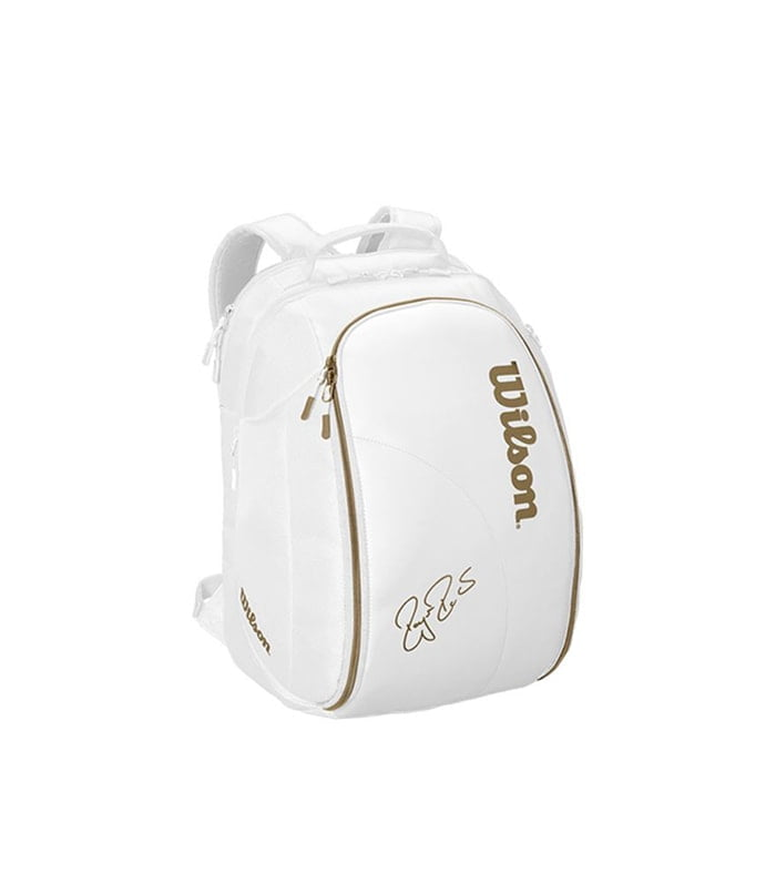 کوله تنیس ویلسون | Federer DNA Backack Bag Limited (White/Gold)