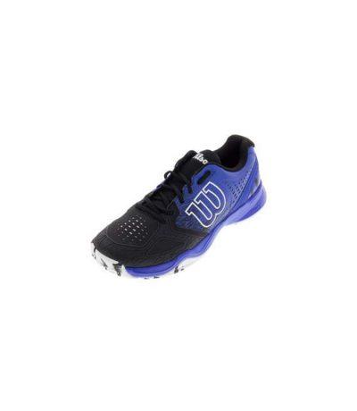 کفش تنیس مردانه ویلسون | Kaos Comp Black/Blue/Iris