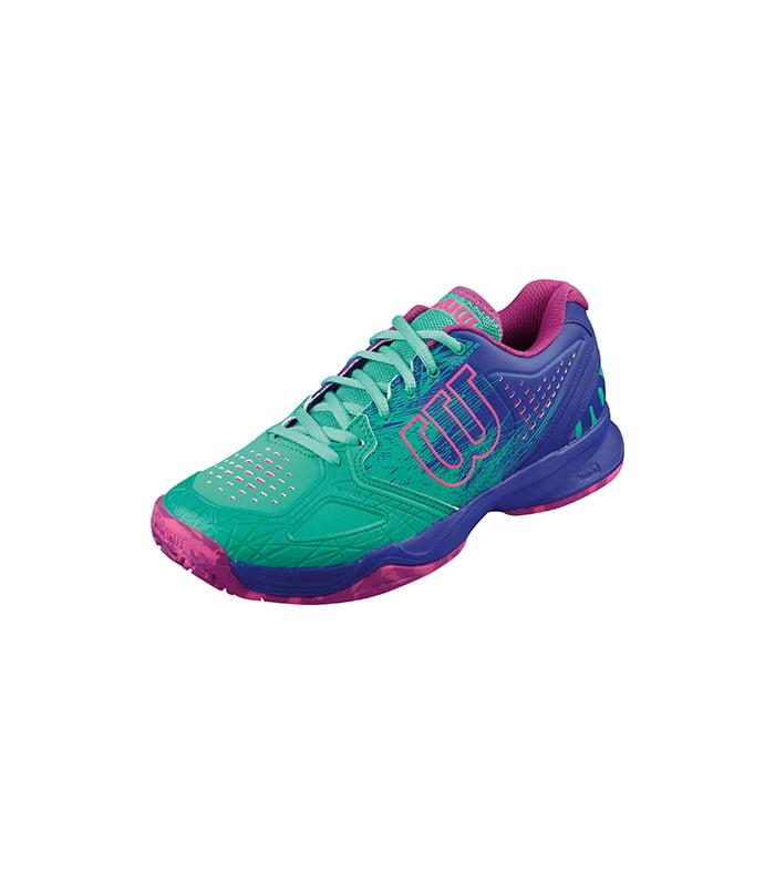 کفش تنیس زنانه ویلسون | Kaos Comp W Aquagreen/ Blue iris