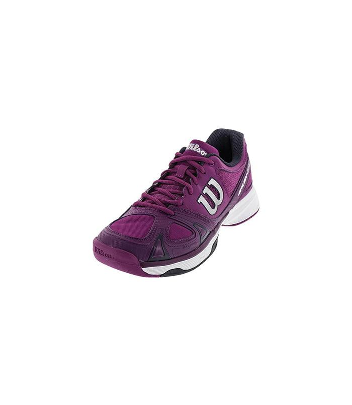 کفش تنیس زنانه ویلسون | Rush Evo W Pink/Dark plum/Coal