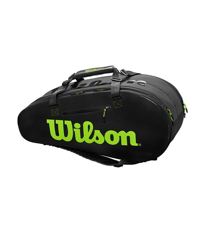 ساک تنیس ویلسون | Super Tour 2 Comp Large Black/Green