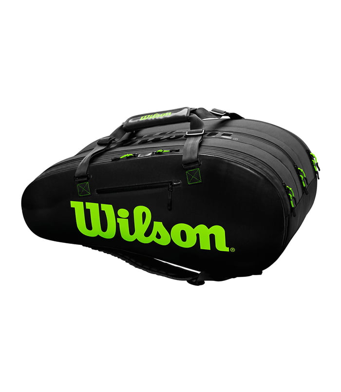 ساک تنیس ویلسون | Super Tour 3 Comp Bag Black/Green