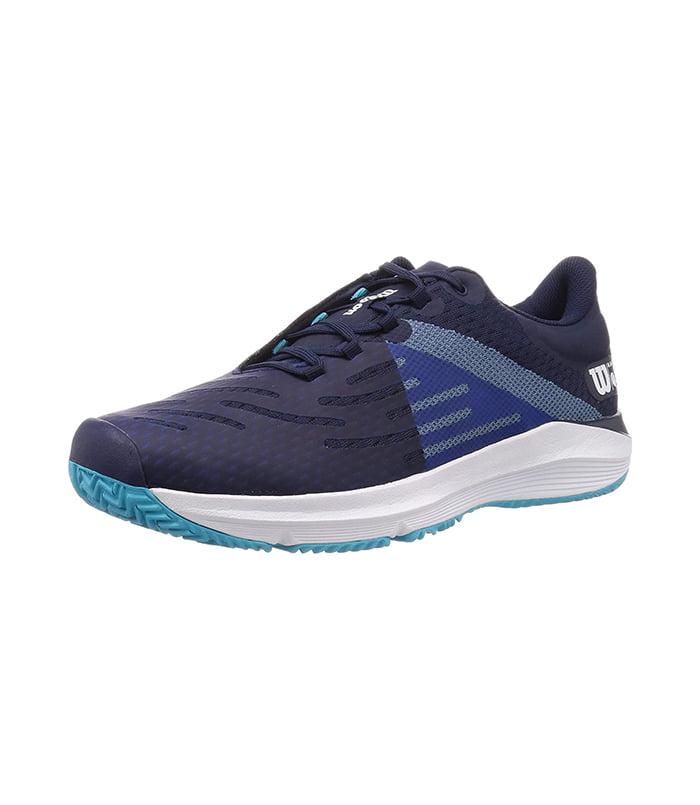 کفش تنیس مردانه ویلسون | Kaos 3.0 Peacoat/White/Scuba Blue