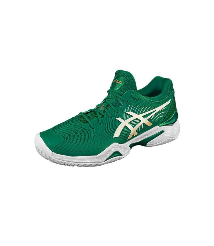 کفش تنیس مردانه اسیکس | Court FF Novak Kale/White