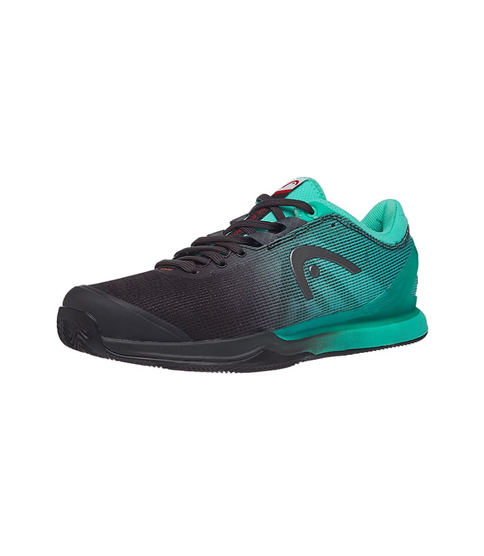 کفش تنیس مردانه هد | Sprint Pro 3.0 Clay Black/Teal