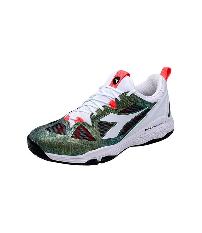 کفش تنیس مردانه دیادورا | Speed Blushield Fly 2 Olive/White