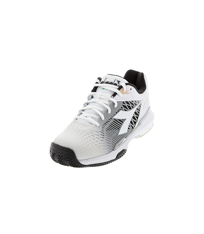 کفش تنیس زنانه دیادورا | Speed Competition 6 Plus Clay White/Silver
