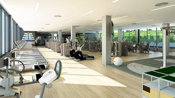 سالن ورزشی آکادمی تنیس رافا نادال در مایورکا