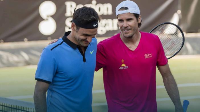 تنیس ۲۵۰ امتیازی اشتوتگارت؛ فدرر فصل چمن را با شکست مقابل تامی هاس آغاز کرد