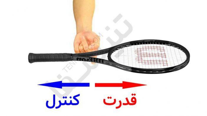 بالانس راکت تنیس