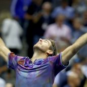 تنیس آزاد آمریکا ۲۰۱۷؛ دلپوترو با شکست فدرر مانع مصاف «فدال» در نیمهنهایی شد/ راهیابی چهار آمریکایی به نیمهنهایی بخش زنان