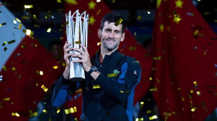 ادامه یکهتازی جوکوویچ با قهرمانی در مسترز شانگهای