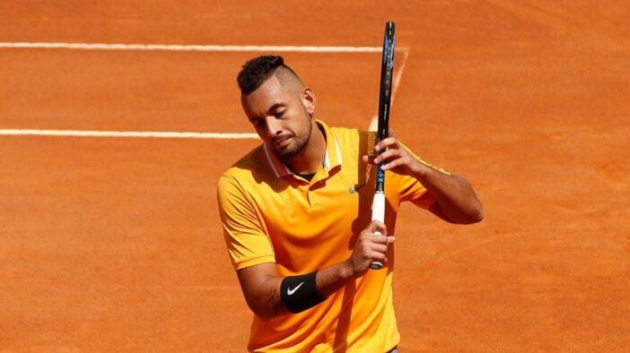 جریمه ۲۰ هزار یورویی برای نیک کیریوس/ مروری بر هفته پرحاشیه پسر بد تنیس در رم