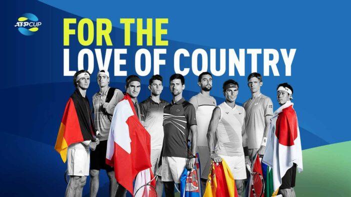 """گروهبندی مسابقات """"ATP Cup"""" مشخص شد"""