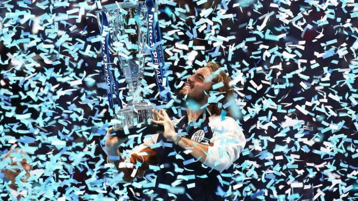 قهرمانی استفانوس سیتسیپاس در مسابقات فینال تور جهانی