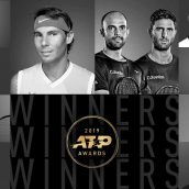 برندگان جوایز اتحادیه تنیس مردان در سال ۲۰۱۹