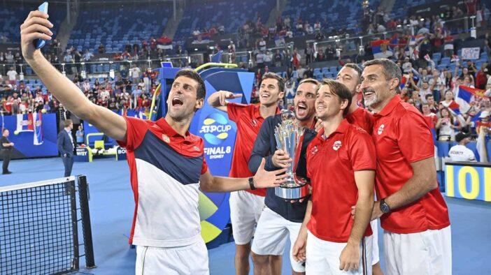 صربستان با شکست اسپانیا قهرمان مسابقات ATP Cup شد